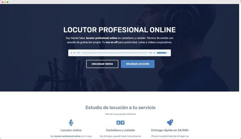 locutor.danielsaez.com